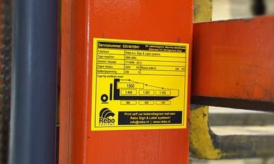 ID labels voor Machine identificatie